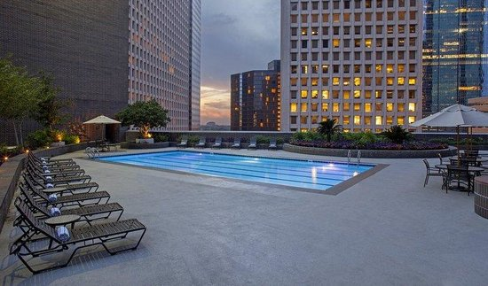 Hyatt Regency Houston: Rooftop Pool