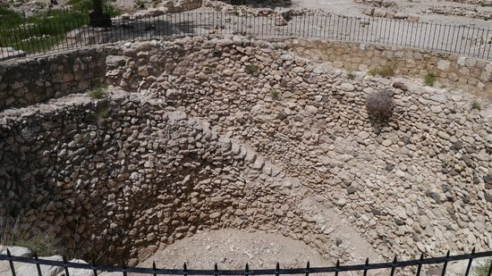 Megiddo National Park: A public grain solo built ~800BC. Origionaly it had a roof but that didn't last the test of time