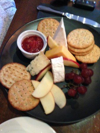 No 14 The Village: Cheese plate
