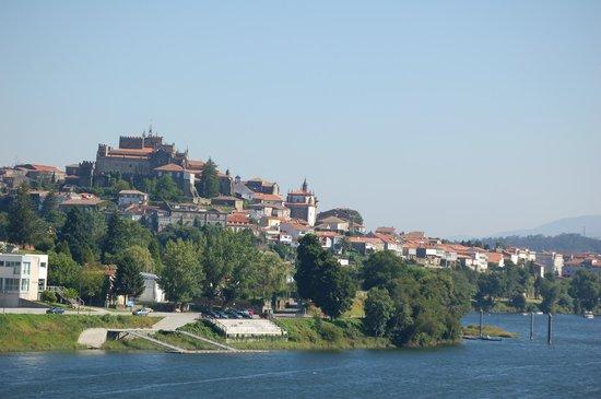 Pousada de Valença do Minho, São Teotónio: View of Tui across the river from the Pousada