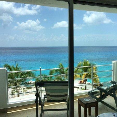 Hotel B Cozumel: Balcony view