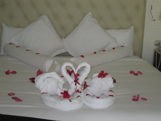 Iberostar Grand Hotel Bavaro : Special Touch From Gladys The Maid