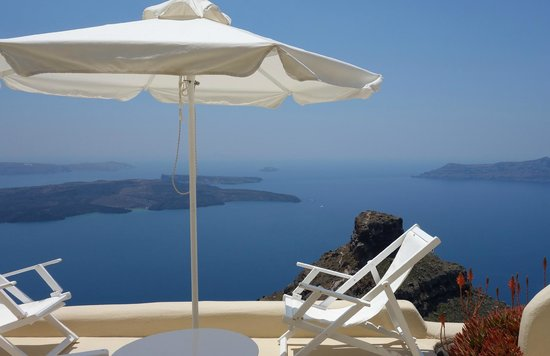 Artemis Villas: White Suite: Veranda view