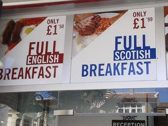 Hotel London Blue : best english breakfast