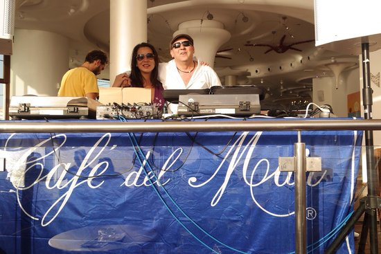 Cafe Del Mar : Me and the legendary Jose Padila