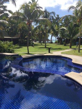 Paradise Sun : vista dalla piscina