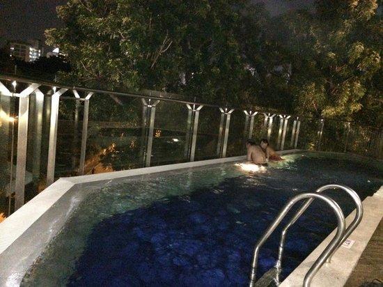 Santa Grand Hotel Bugis : pool on the roof