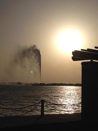 Park Hyatt Jeddah - Marina, Club & Spa : king Fahd's fountain, Jeddah