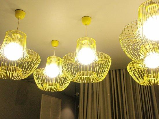 The Concierge Boutique Bungalows: Cool chandilier