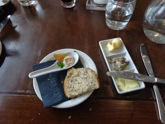 The Crab at Bournemouth : appetizers