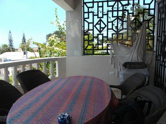 """Chambres d""""hotes La Romana: balcon"""