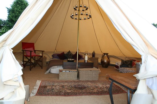 Home Farm Caravan and Campsite: One of our Glamping Tents