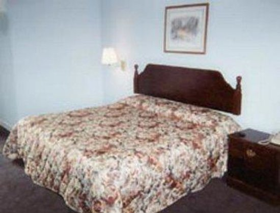 Knights Inn Hot Springs : Guest Room With One Bed