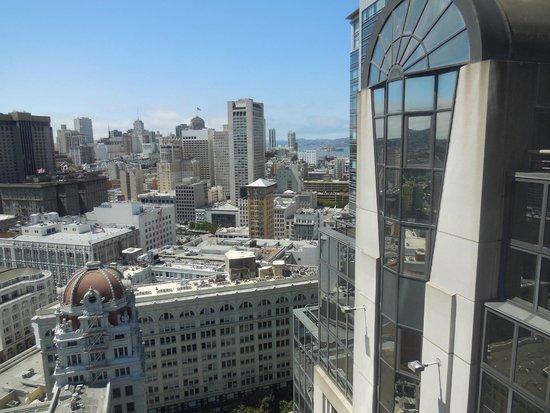 San Francisco Marriott Marquis: The view looking toward Alacatraz