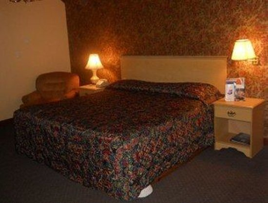 Red Carpet Inn Hot Springs: Guest Room With One King Bed