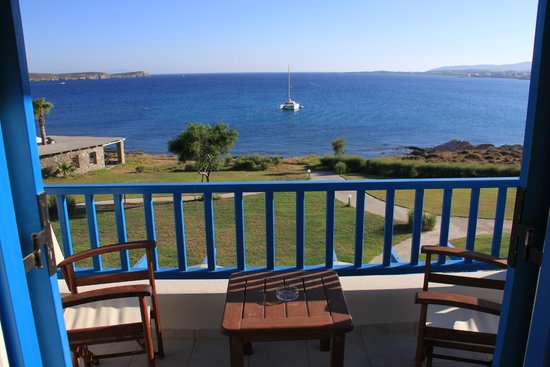 Poseidon of Paros: View from grand suite