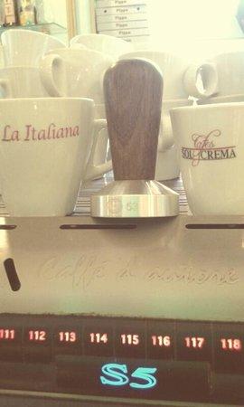 La Italiana Cafe: Barista Almunecar