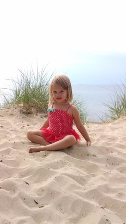 Indiana Dunes National Lakeshore: Grand daughter loved the beach