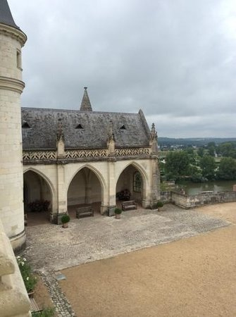 Château d'Amboise : View from inside the chateau