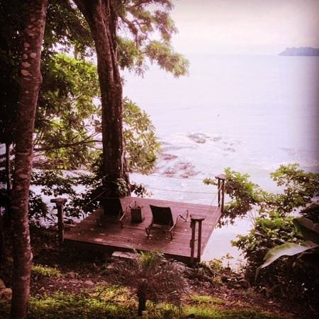 The Resort at Isla Palenque: deck with a view