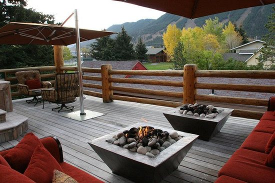 Rusty Parrot Lodge and Spa: SunDeck(2)