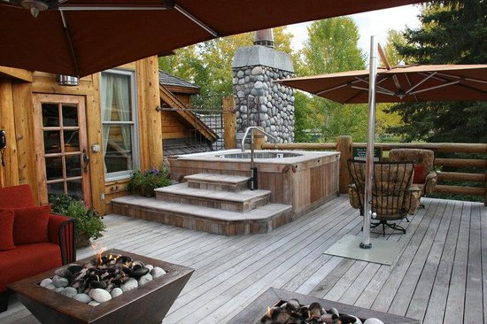 Rusty Parrot Lodge and Spa: SunDeck