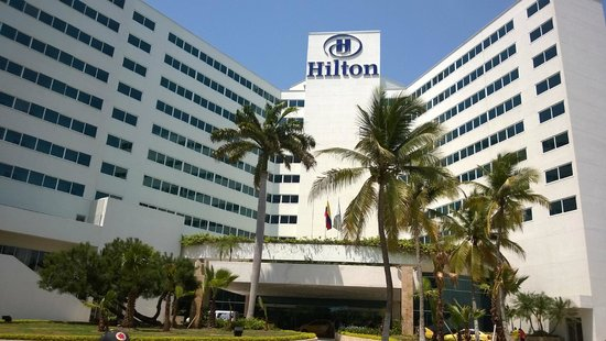 Hilton Cartagena: frente de Hotel