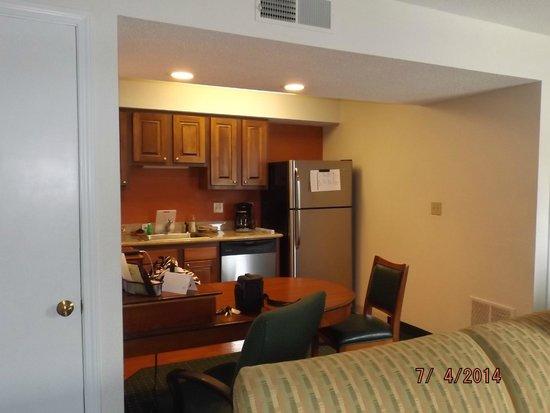 Residence Inn Minneapolis Eden Prairie: inside our room