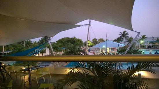 Hilton Cartagena: vista desde restaurant
