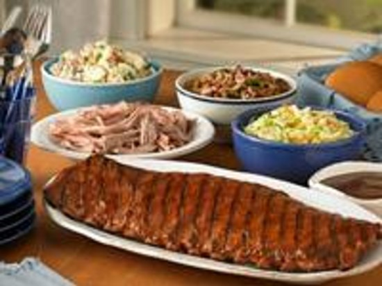 Everyone will love Red Hot & Blue Take-Out for your family night meal