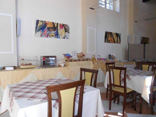 Villa Maria Pia: Sala colazione