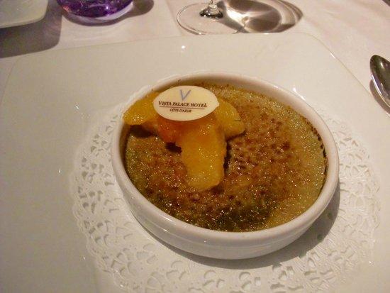 Le Vistaero: Crème Brulée