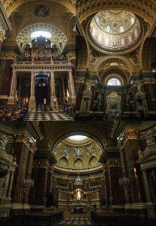 St. Stephen's Basilica (Szent Istvan Bazilika): внутри