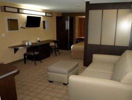 Microtel Inn & Suites by Wyndham Scott Lafayette: Suite