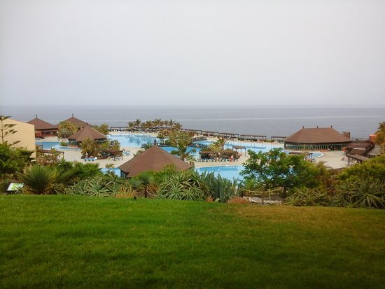 La Palma Princess & Teneguia Princess: this was taken from the terrace seating area