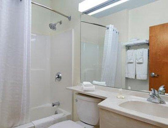 Microtel Inn & Suites by Wyndham Plattsburgh: Bathroom