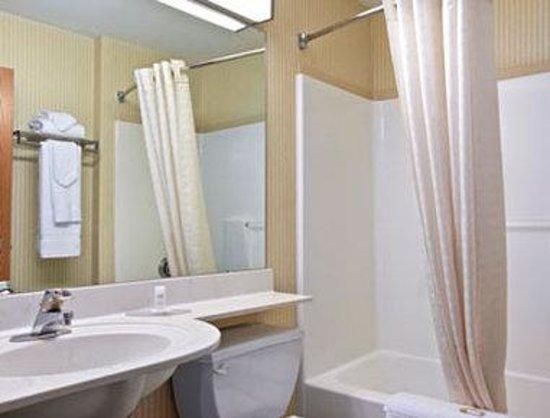Microtel Inn & Suites by Wyndham Bethel/Danbury : Bathroom
