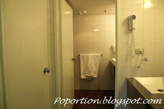 ibis Melbourne Hotel and Apartments: large washroom