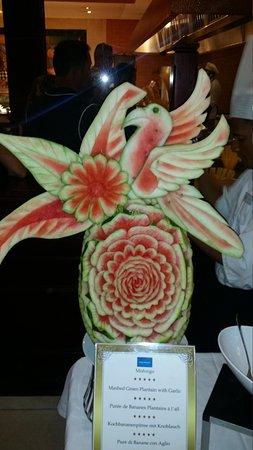 Grand Bahia Principe Punta Cana : Fruit carving
