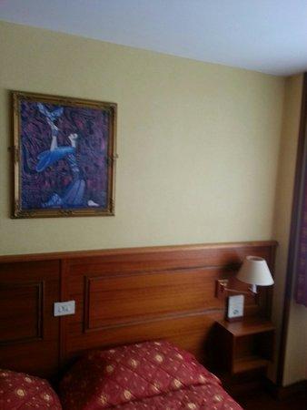 Hotel et Restaurant Hamiot: Chambre