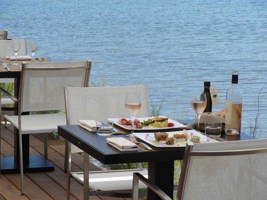 Hotel Don Cesar & Spa Nuxe : Grill au bord de l'eau