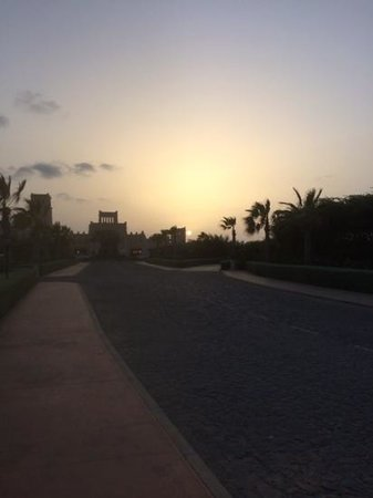 Hotel Riu Touareg : sunset at Riu Toureg