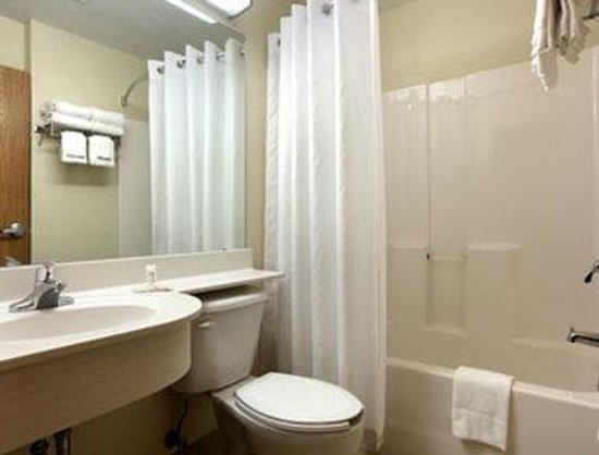 Microtel Inn & Suites by Wyndham Ocala: Bathroom