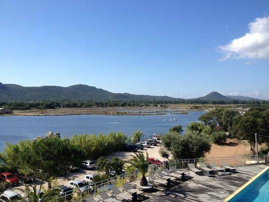 Hotel Costa Salina : Superbe vue de la chambre sur les marais salants