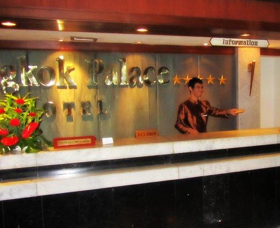 Bangkok Palace Hotel : Холл