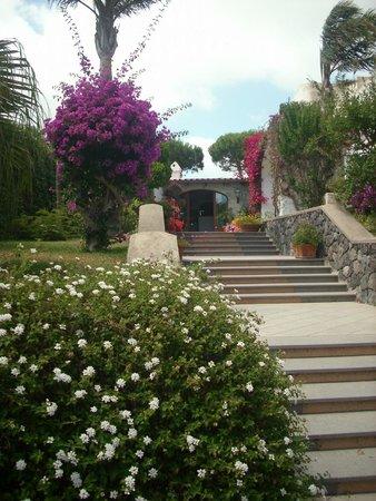 Hotel San Nicola Terme: 25 Stufen Koffer schleppen