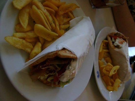 Dionisios: Nosso almoco... excelente custo beneficio