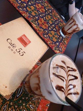55 Cafe and Restaurant: Ice cafe Mocha