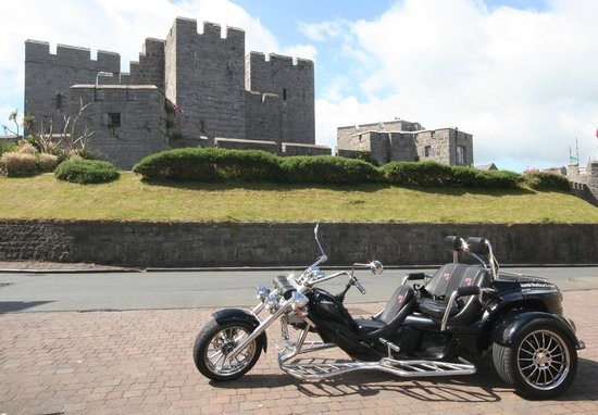 IOM Trike Tours: The Island is more than the TT course, visit historic Castletown
