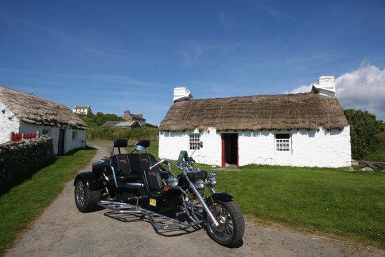 IOM Trike Tours: On a visit to Cregneish village enjoy a wonderful afternoon tea.